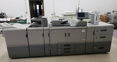 Ricoh Pro 8100s B&W Digital Press Copier - 95 ppm  - Only 741K meter clicks