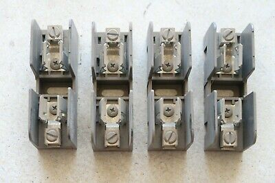 4 new GOULD SHAWMUT #60356J 1 Pole 600V 30A Box Type Class SJ Fuse Blocks