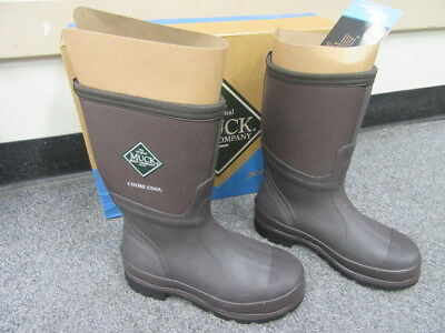 97995bd8a29 NEW MUCK BOOT Chore Cool Cmct-900-Brown Work Boots Ladies Size 6 Mens 5
