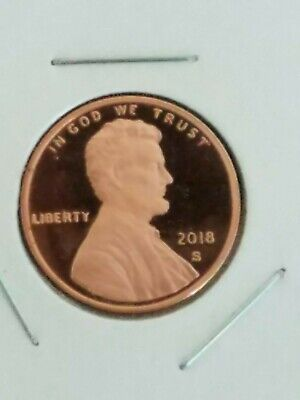 2018-S ~Proof~ Lincoln Cent~ Penny ~Gem~ Proof ~ In Stock