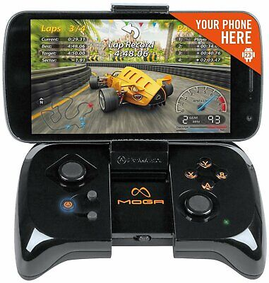 MOGA Wireless Bluetooth Gaming Game Cell Phone Controller for Android Smartphone