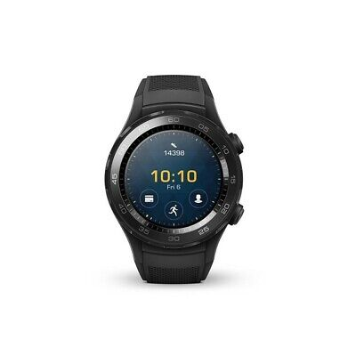 Huawei Watch 2 4G LTE Nero Carbon Black, Smartwatch Android Wear