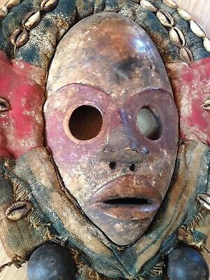 Genuine Authentic Dan 'Gunyege' Mask - Ivory Coast - Tribal African Art