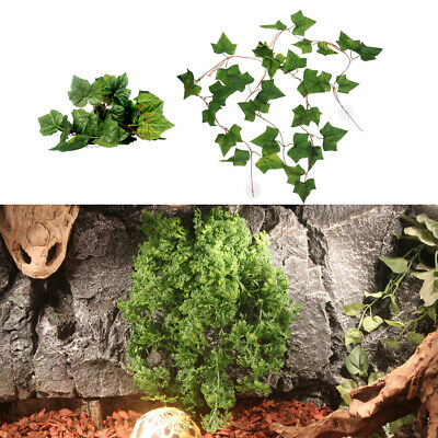 2x Reptile Terrarium Decoration Skull Head Hide Cave For Snake