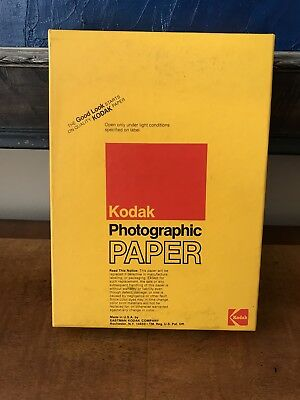 Kodak Photographic Paper Polycontrast Rapid II RC E 100 Sheets 5x7 Medium