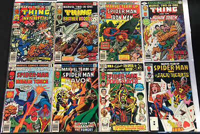 Marvel Two-In-One Bronze Age Comic Lot 8Pc (Vf)