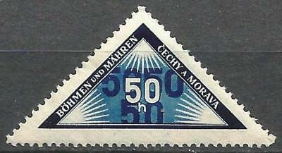 Germany Third Reich 1939 Bohemia Moravia MNH - Personal Delivery - Mi 52 SG-P38