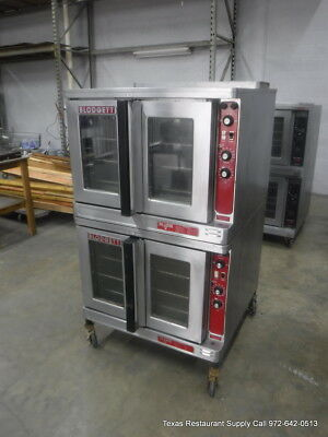 Blodgett Mark V-III Electric Double Stack Full Size Convection Oven