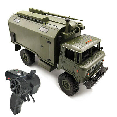 1:16 RC Car RTR Command Military Truck Soviet GASS66 WPL Rock Vehicle Crawler