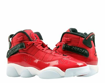 Nike Air Jordan 6 Rings GS Red/Black-White Big Kids Basketball Shoes 323419-601