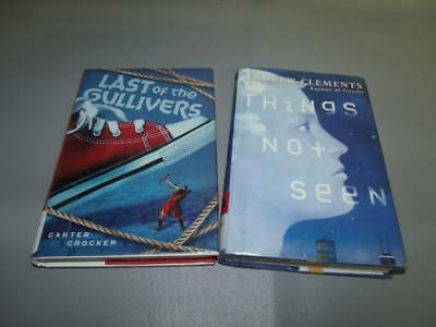 Set of 2 Young Adult Youth Sci Fi Fantasy Books (Ages 8+) Science Fiction Lot
