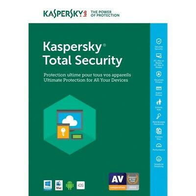 KASPERSKY TOTAL SECURITY MULTI-DEVICE 20 Total Security Multi-Device 20th annive
