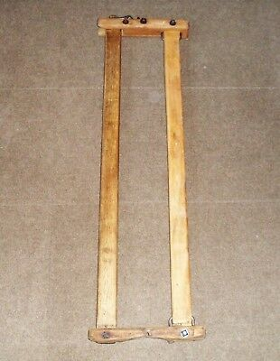 Old Cow Stanchion, Wood, Sturdy, Rare Find