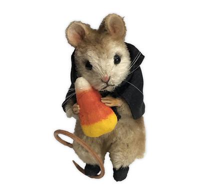 R. John Wright - Trick or Treat Mouse, Halloween Mice Collection (NO HAT)