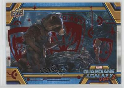 2017 Upper Deck Guardians of the Galaxy Volume 2 Red/49 #70 The Bomb Card 0ad