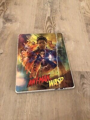 Marvel Ant-Man and the Wasp 3D Blu Ray Steelbook incl Lenti