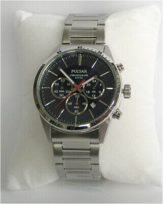 Pulsar Pt3003x1 Chronograph 100m Wrist Watch Men's Watch New and in Original Box