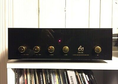 Audio Note OTO Line SE - class A line level integrated amplifier