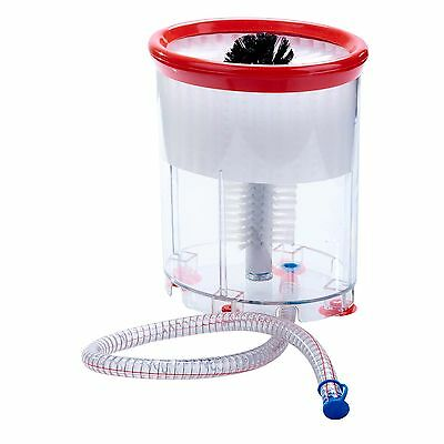 NEW Portable Bar Glass Brush Washer! Beer Mugs Wine Glasses catering food truck