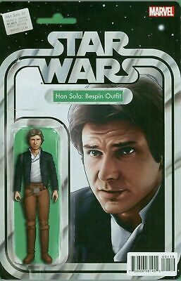 Marvel Star Wars Han Solo #1 Christopher Bespin Outfit Action Figure Variant JTC