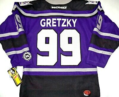 the latest 28e06 0831c NWT VINTAGE WAYNE Gretzky La Kings Sheild Youth S/m Licensed Koho Hockey  Jersey
