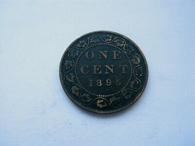 1895 Canada Large One Cent - NICE