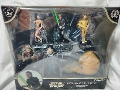 Star Wars Disney Parks Return Of The Jedi Collectible Figures Set of 6