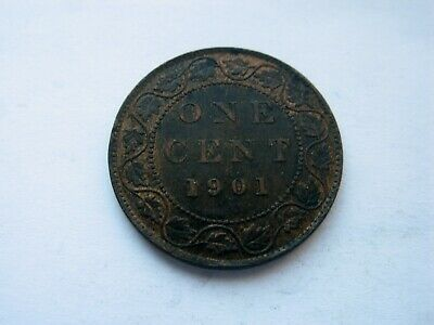 1901 Canada Large One Cent - NICE