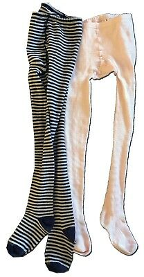 Set of Two FRED BARE Girl's Size 8-10 Tights