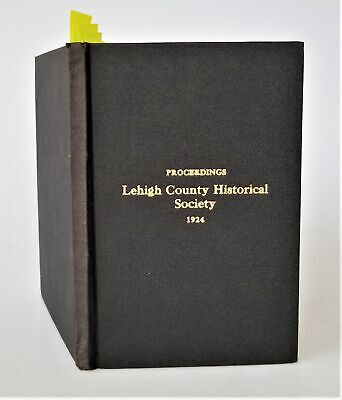 1924 antique LEHIGH VALLEY Co allentown pa HISTORY indian zinc mines tobacco