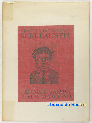 Tracts & documents n°1 Surréalistes Collectif 1987