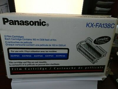 NEW GENUINE Panasonic KX-FA138C replacement film (1 Cartridge) OEM