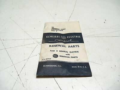 General Electric 6960047G26 Starter Contact Kit *New In Box*
