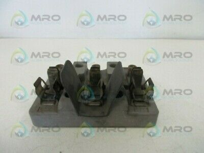 Square D 36209 Fuse Block Holder (As Pictured) * Used *