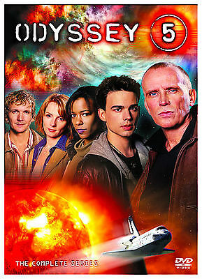 ODYSSEY 5 - THE COMPLETE SERIES (DVD SET) Peter Weller five space shuttle NEW