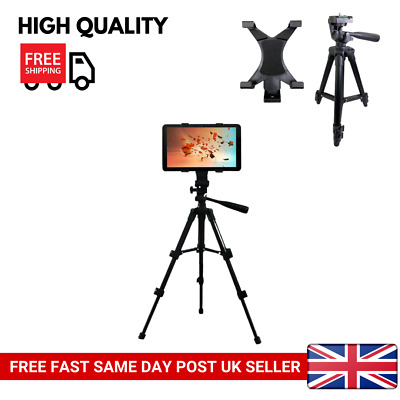 Adjustable Portable Floor Mount Tripod Stand for iPad 2 3 4 Mini Tablet 7-10inch
