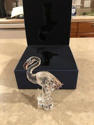 Swarovski Crystal Flamingo #289733 Figurine Original Box - Mint Condition