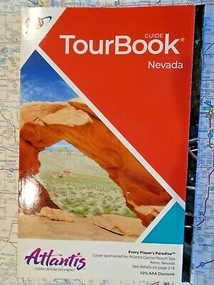AAA TEXAS TourBook Travel Tour Vacation Map Guide Book 2020 2021 Houston Dallas