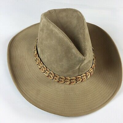 cdd0a39b2ee01 VTG RESISTOL SELF Conforming Western Cowboy Hat Round Up Collection ...