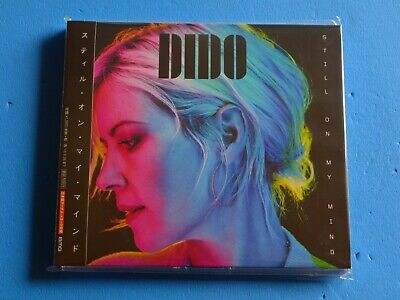2019 JAPAN DIDO STILL ON MY MIND CD w/BONUS TRACK FOR JAPAN
