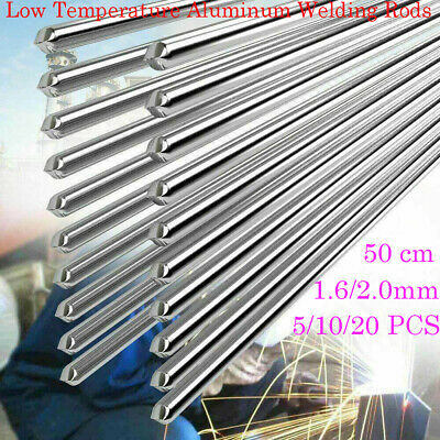 5/10/20 PCS Easy Aluminum Welding Rods Low Temperature No Need Solder Powder Lot