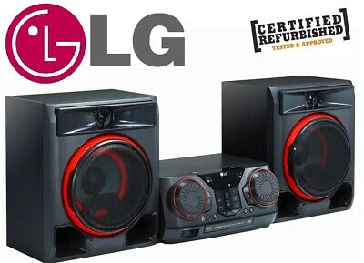 LG CK56 X-Boom Multi Jukebox, HiFi System, Radio, Bluetooth, CD, USB, 700W
