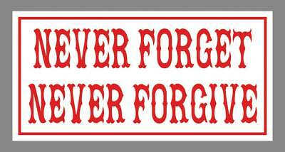 Hells Angels, Support 81 Chiang Mai, Thailand Sticker, Never Forget
