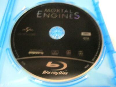 Mortal Engines (Blu-ray Disc Only, 2018) 1 Disc Never Viewed Quick SHIP NO CASE
