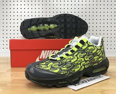 wholesale dealer a6301 51074 Nike Air Max 95 Premium Men s 10.5 Logo Pack Volt Running Shoes 538416-019  New