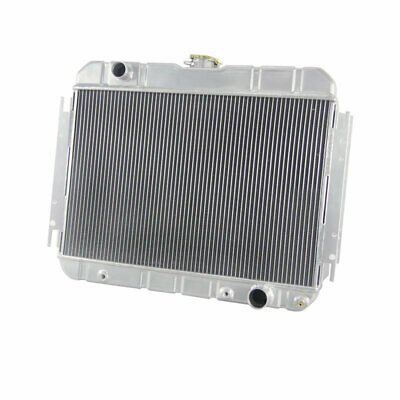 3 ROW ALUMINIUM RADIATOR FOR 63-68 CHEVY BELAIR/IMPALA/BISCAYNE/ElCAMINO AT/MT