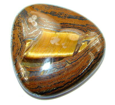 Natural Amazing golden tigers's eye 35.5ct loose stone from SilverRush Style