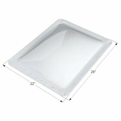 Icon 1852 RV Skylight Dome 18 x 24 x 4/Outer 22 x 28 - UV Resistant