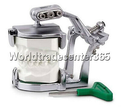 Dental Lab Adjustable Big Size Full Mouth Magnetic Articulator Equipment Denture