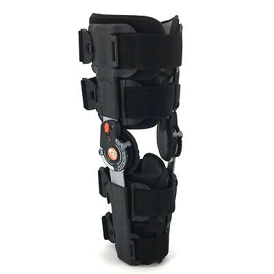 ad3aff2f27 BREG T-SCOPE KNEE Brace Size Right Or Left Adjustable Flexion Hinged ...